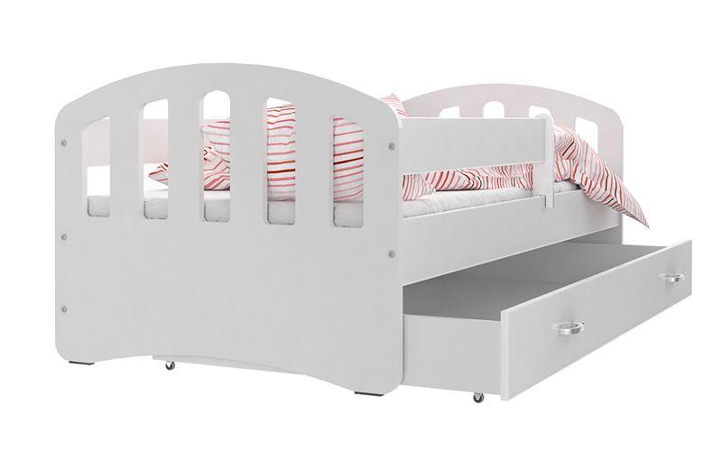 Łóżko HAPPY 140x80 szuflada + materac zdjęcie 1