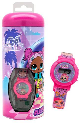 Skarbonka z zegarkiem LOL Surprise Licencja MGA (DI2229LL2) na Arena.pl