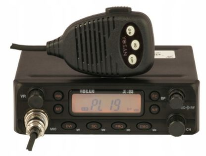 Cb Radio Yosan Jc650 Fitry ASQ RF Gain AM/FM