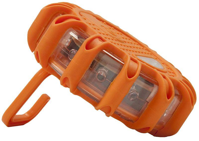 Lampa ostrzegawcza błyskowa 12+3 LED flara kogut dysk latarka 3xAAA P na Arena.pl