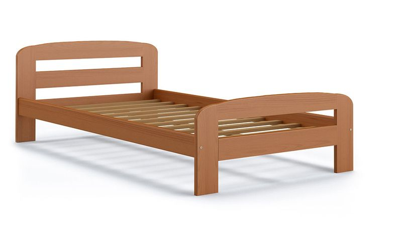 Łóżko DALLAS 200x90 + drewniany stelaż zdjęcie 2