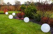 Kula ogrodowa Era 40cm solarna kula dekoracyjna z żywicy poliestrowej zdjęcie 2