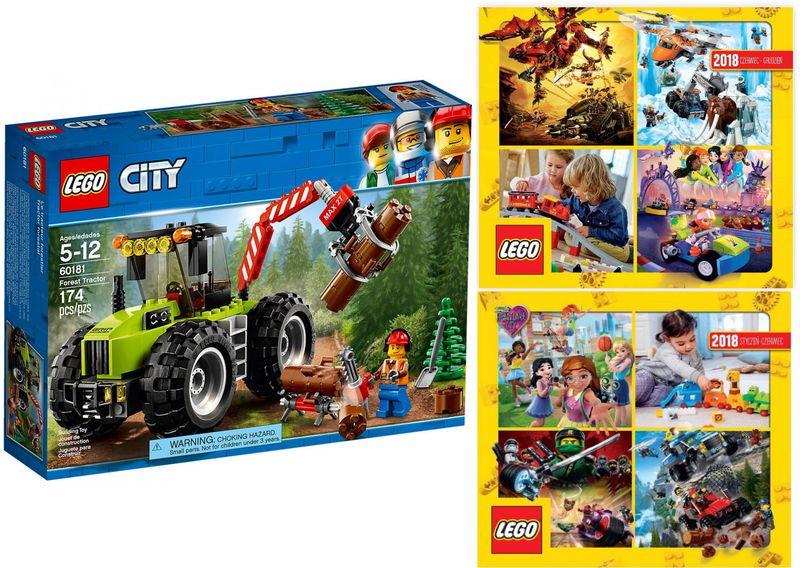 Lego City 60181 Traktor Leśny 2 Katalogi Lego Arenapl