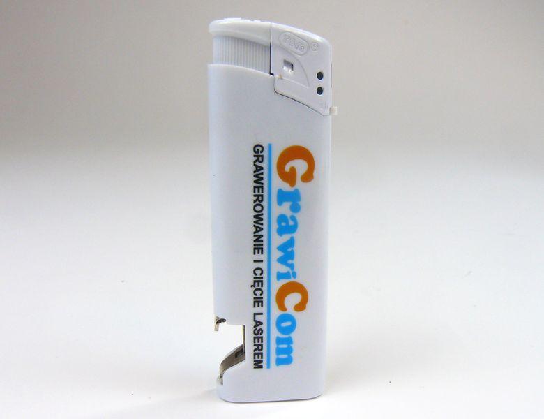 zapalniczka z otwieraczem reklamowa firmowa z nadrukiem UV 100 szt zdjęcie 5