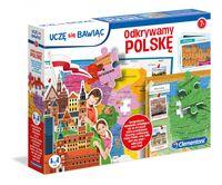 Gra Edukacyjna Odkrywamy Polskę Puzzle Clementoni 50021