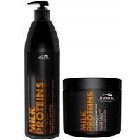 Zestaw Joanna proteiny mleczne szampon+kuracja
