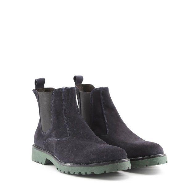1b2ce10839eaf Made in Italia skórzane buty męskie sztyblety niebieski 43 • Arena.pl