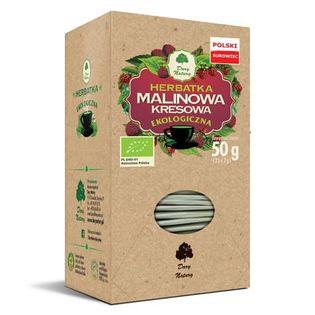 Herbata Malinowa kresowa Eko 25x2g Dary Natury