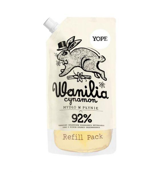 REFILL Naturalne Mydło w Płynie Wanilia YOPE 500ml na Arena.pl