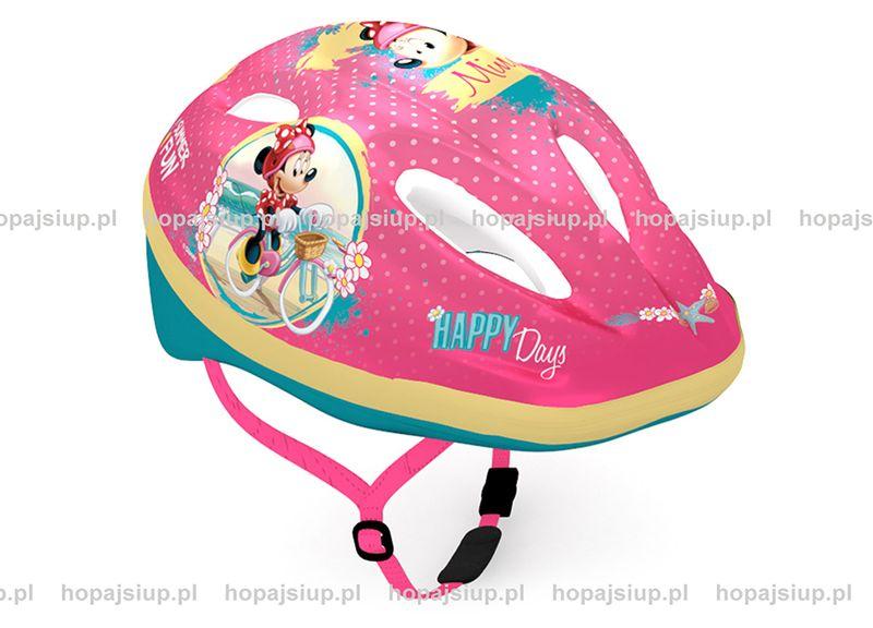 Kask rowerowy Myszka Minnie Mouse ochraniacze, rękawiczki, pokrowiec na Arena.pl
