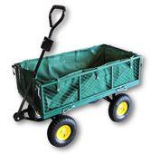 Wózek ogrodowy transportowy przyczepka do 450 kg 3w1