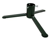 TUCHMET Stojak pod choinkę składany 3-nożny AGA fi 90 z pojemnikiem na wodę - kolor zieleń antyczna