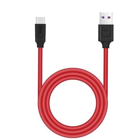 Kabel USB HOCO Typ - C Quick Charge 5A 1.2m zdjęcie 1