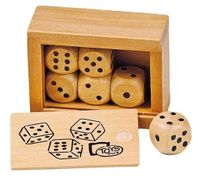 Kostki do gry w pudełku