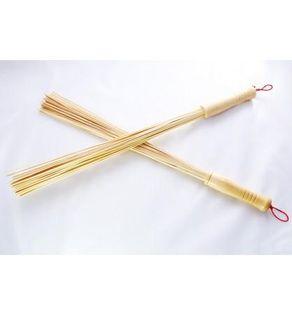 Witki bambusowe 2 szt do masażu w saunie