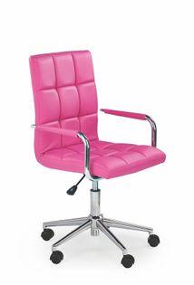 Fotel GONZO do biurka dla dziecka RÓŻOWY obrotowy