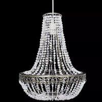 Kryształowa lampa wisząca 36x46cm VidaXL