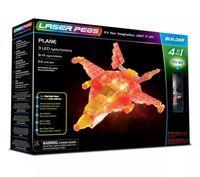 Laser Pegs Świecące Klocki 4W1 Plane Samolot 41010