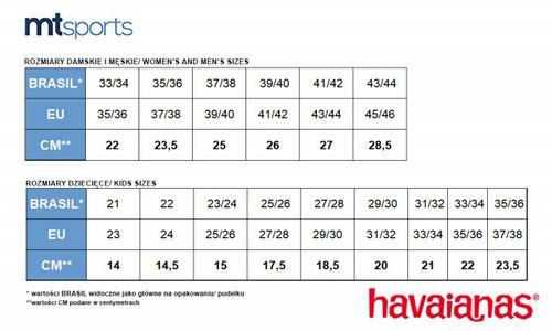 Japonki Havaianas New Tria Sunset Beige 4141849-0121 - 35/36 na Arena.pl