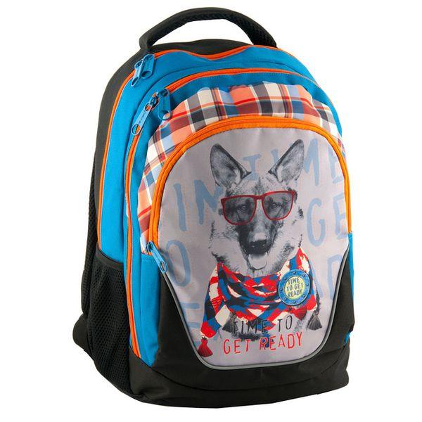 Plecak szkolny młodzieżowy pies paso zdjęcie 1
