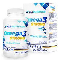 Allnutrition Omega 3 Strong 90 Kap Wzrok