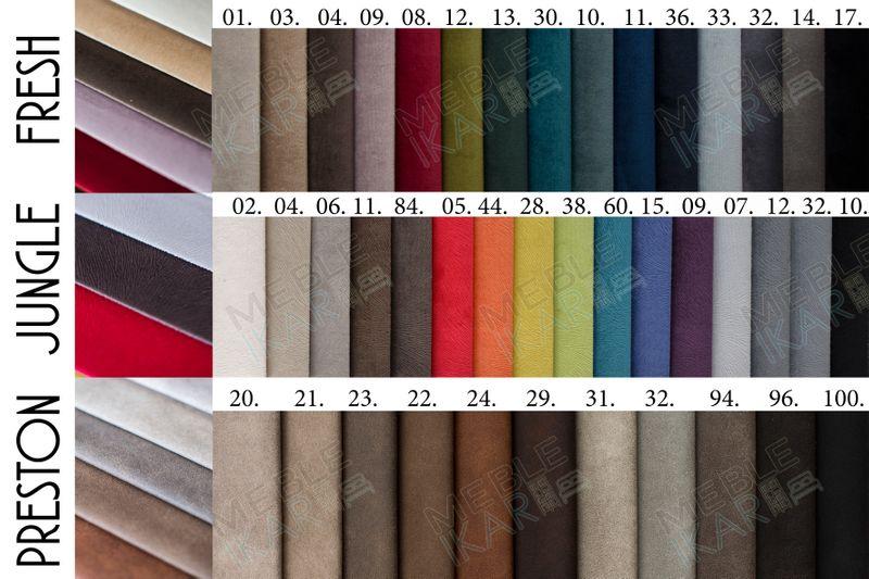Łóżko tapicerowane STORIE 160x200+ Stelaż zdjęcie 15