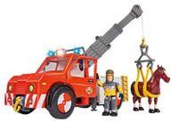 Strażak Sam Wóz strażacki Phoenix z figurką i koniem Simba 9258280