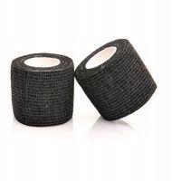Bandaż kohezyjny samoprzylepny 10cm x 4,5m czarny