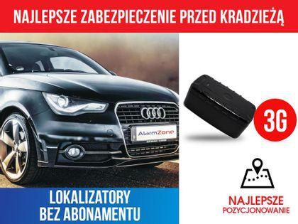 Lokalizator GPS AZ20000-3G + alarm + SIM + akumulator