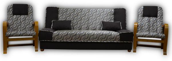MIKI DELTA - wersalka kanapa fotel zestaw komplet wypoczynkowy