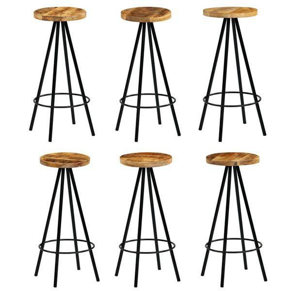 Hoker Hokery Krzesła Barowe Stolik Drewniane Zestaw Barowy 150x60x107cm