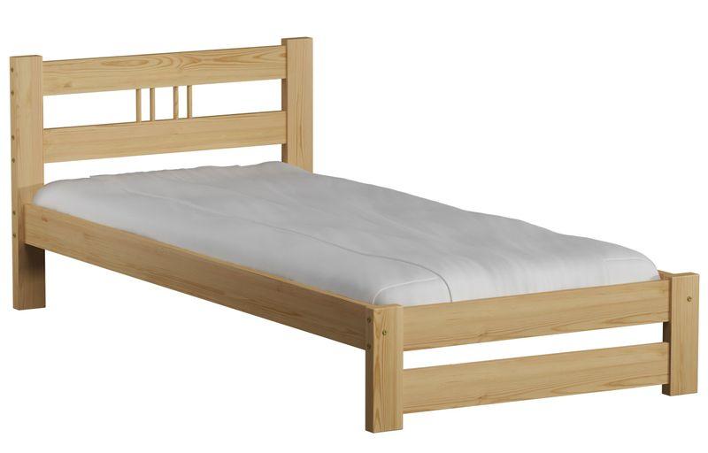 Łóżko ESM2 90x200 Drewniane + stelaż sprężynujący na Arena.pl