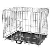 Metalowa klatka dla psa, składana, rozmiar M
