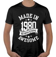 Koszulka męska na urodziny 30 40 50 60 70 lat XL ur03