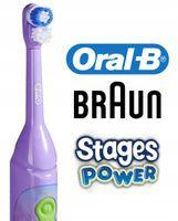 BRAUN ORAL-B STAGES DLA DZIECI - WYBIERZ 4 MODELE / Baterie w Zestawie