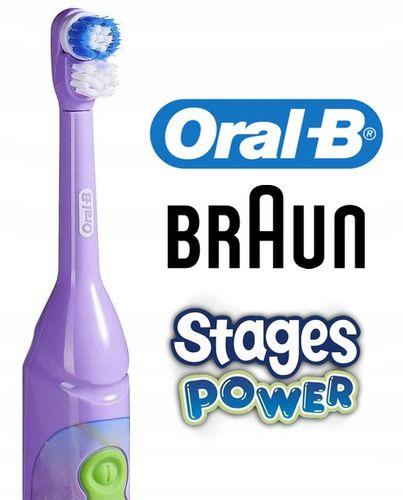 BRAUN ORAL-B STAGES DLA DZIECI - WYBIERZ 4 MODELE / Baterie w Zestawie na Arena.pl