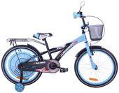 Rower dziecięcy 20 Racing Sport czarno-niebieski