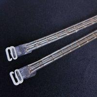 Ozdobne sylikonowe ramiączka do biustonosza beż BS001499