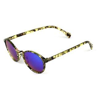 Okulary przeciwsłoneczne damskie szylkret marmurek