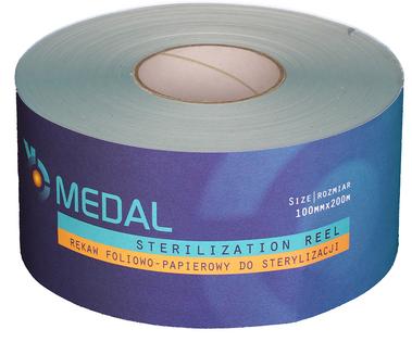 Rękaw do sterylizacji 10cm x 200m Medal