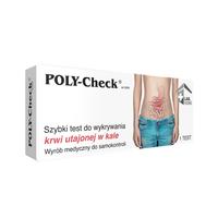 POLY-Check® ¬Test na krew utajoną w kale, profilaktyka raka jelita grubego