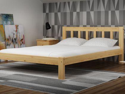 Łóżko 120x200 Ofelia Wysoki Zagłówek Stelaż