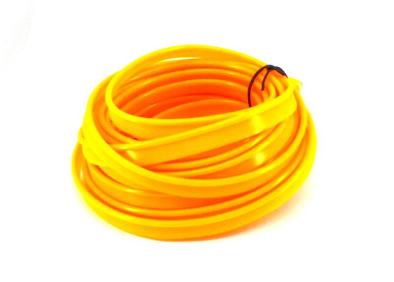 Światłowód EL WIRE Ambient Taśma LED 5m żółty zdjęcie 6