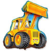 Balon foliowy DUŻA KOPARKA hel maszyny budowlane