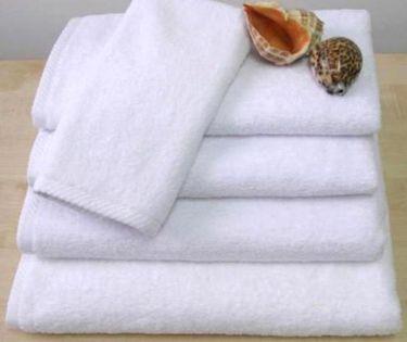 PROMOCJA Ręcznik frotte biały 50x90 AQUA HOTELOWY