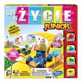 Gra Hasbro - Gra w życie junior B0654
