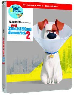 Sekretne życie zwierzaków domowych 2 steelbook 4K UHD
