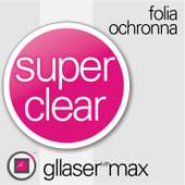 Folia Ochronna Gllaser MAX SuperClear do Garmin FENIX 5