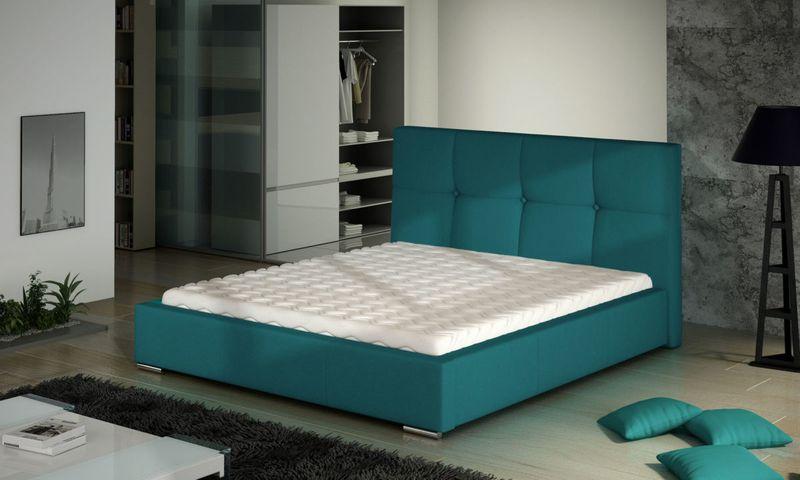 Łóżko Tapicerowane MARII 160x200+ Stelaż zdjęcie 1