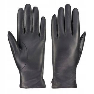 BETLEWSKI Rękawiczki skórzane damskie iTouch rozmiar M